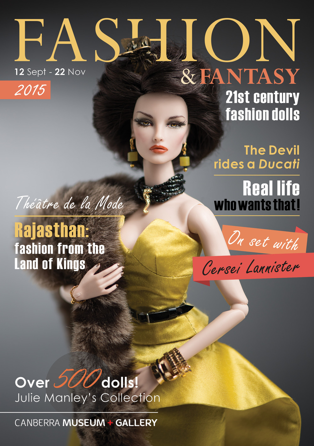 Fashion and Fantasy: 21st century fashion dolls