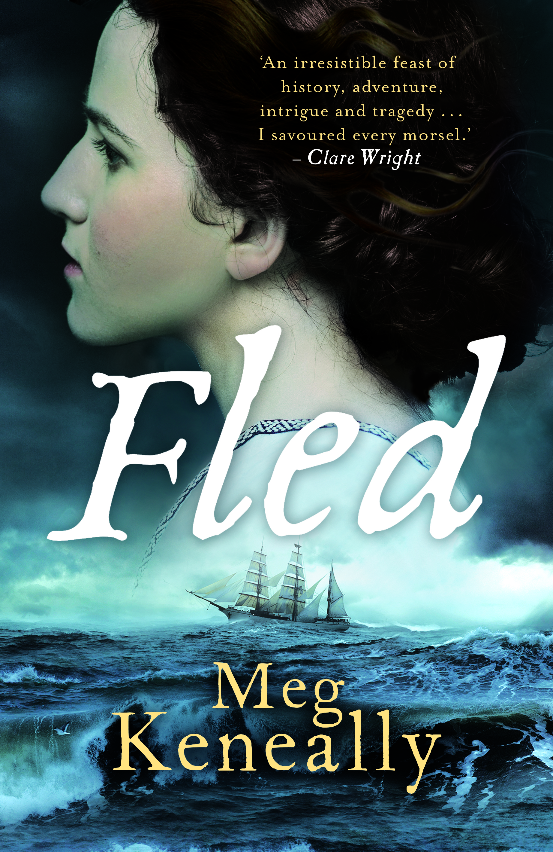Fled book cover