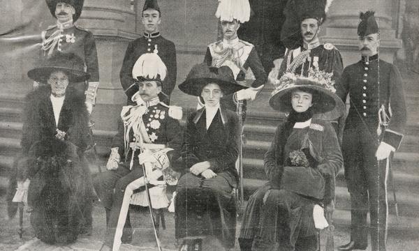 The Denmans, Empire and Australia 1910-1917