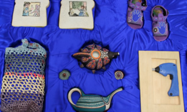 Blue Suitcase: What Inspires Artists?